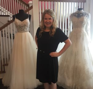 The Perfect Wedding Gown from the Perfect Place